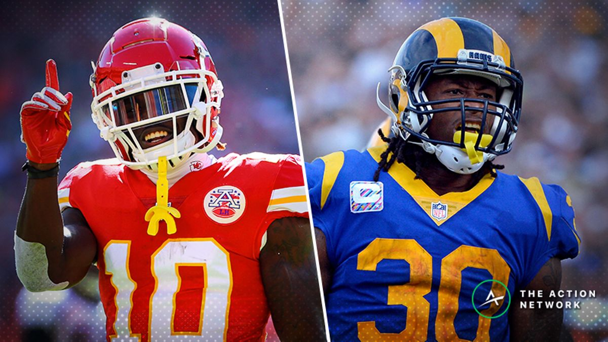 NFL Divisional Round Saturday Cheat Sheet: Betting, Fantasy, More for Colts-Chiefs & Cowboys-Rams article feature image