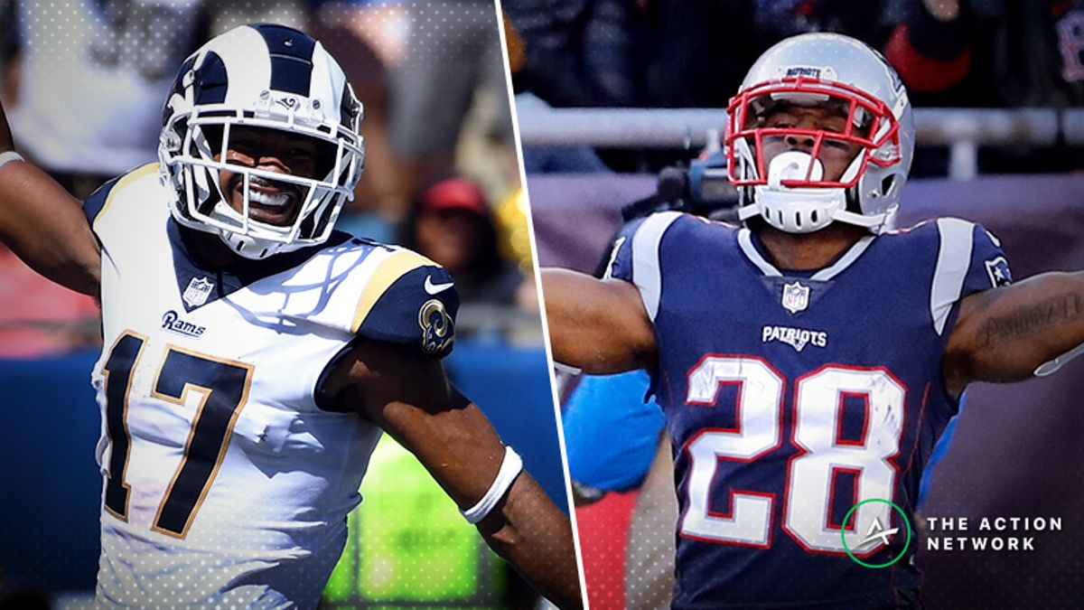 Stuckey: My 10 Favorite Player Props for Rams-Saints, Patriots-Chiefs article feature image