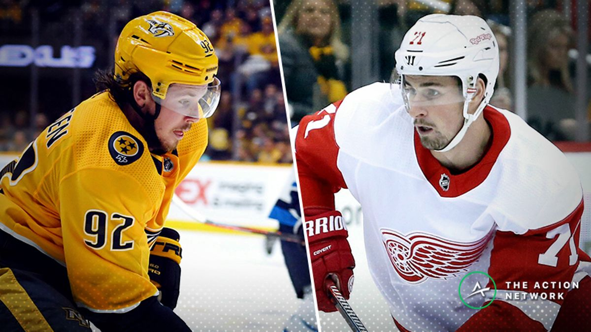 Freedman's Favorite Prop Bet (Jan. 4): Ryan Johansen vs. Dylan Larkin article feature image
