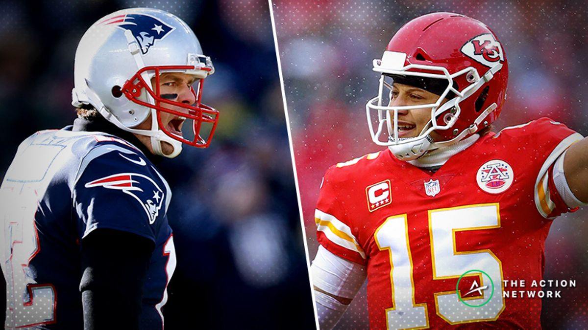 Patriots-Chiefs Betting Odds: Latest AFC Championship Game Spread, Over/Under article feature image