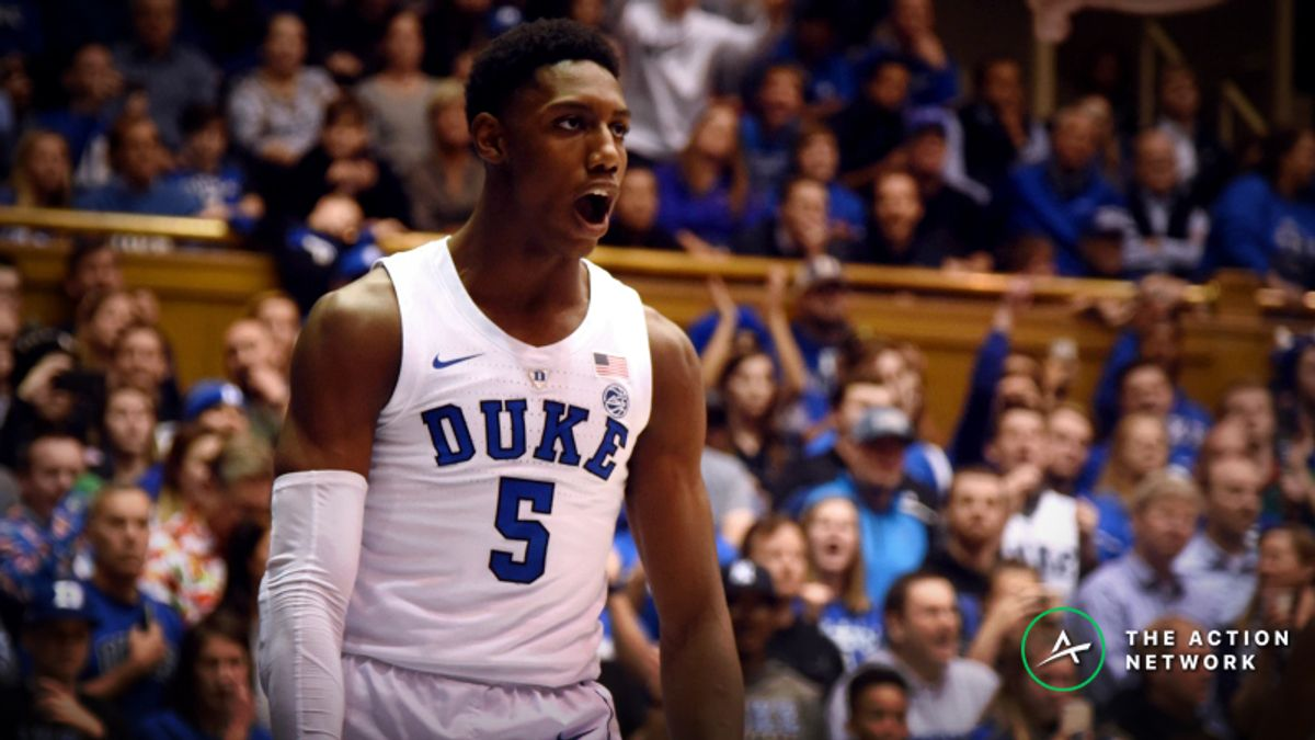 Top College Basketball Betting Trends for Duke-Notre Dame, TCU-Texas Tech article feature image