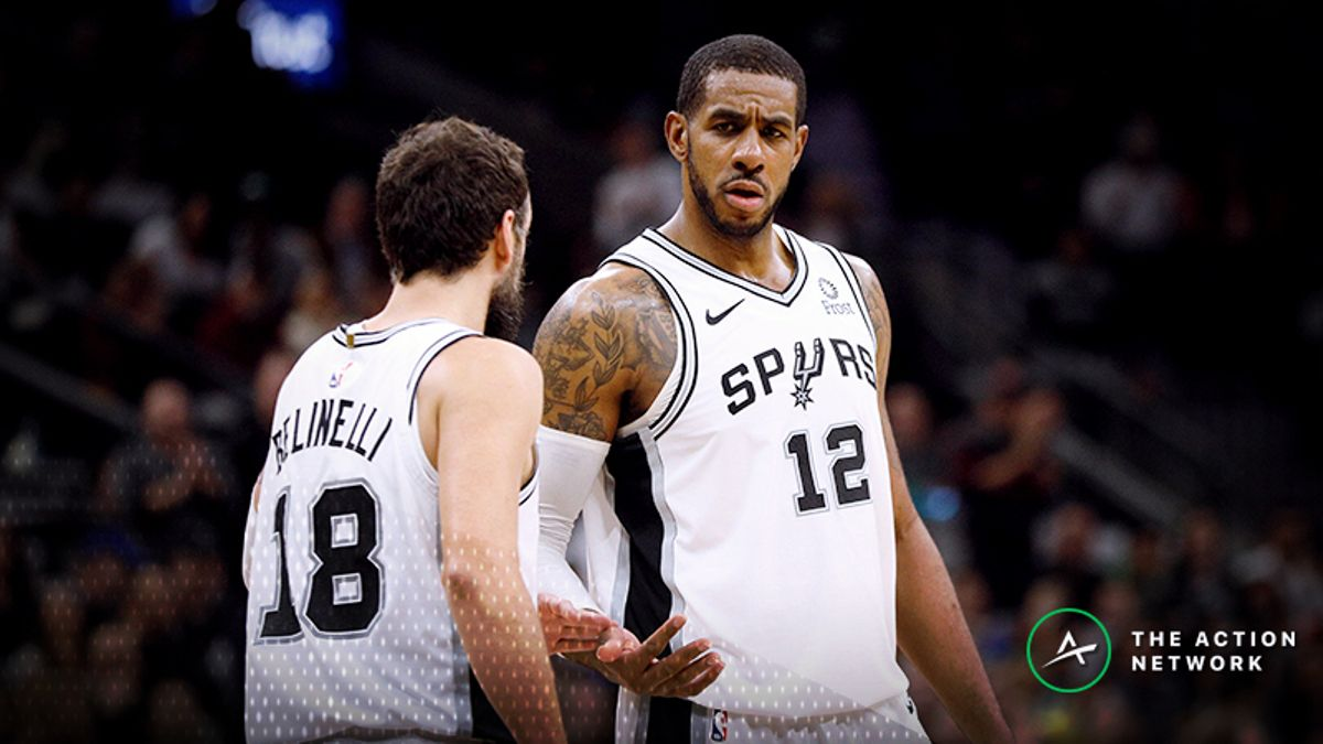 Thunder-Spurs Betting Guide: Sell San Antonio's Scorching Shooting? article feature image