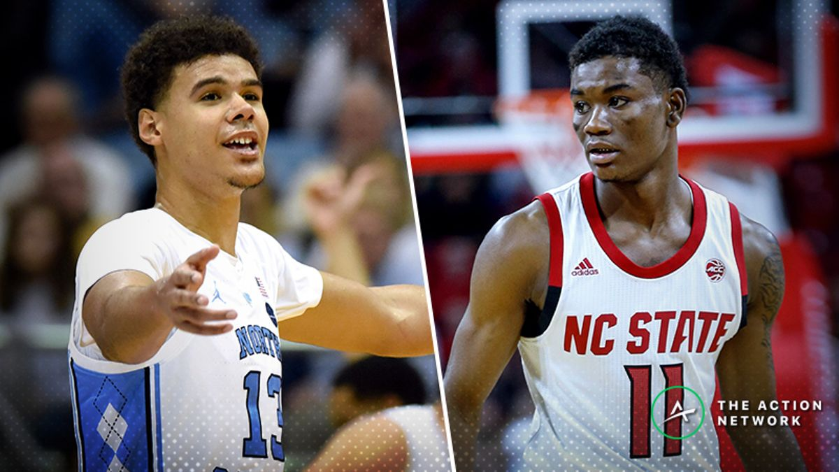 Tuesday's College Basketball Betting Previews: North Carolina-NC State, Iowa State-Baylor article feature image