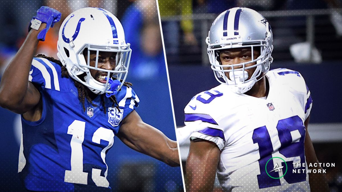 NFL Wild Card WR/CB Matchups: T.Y. Hilton Owns Houston, Amari Cooper Set Up Well, More article feature image