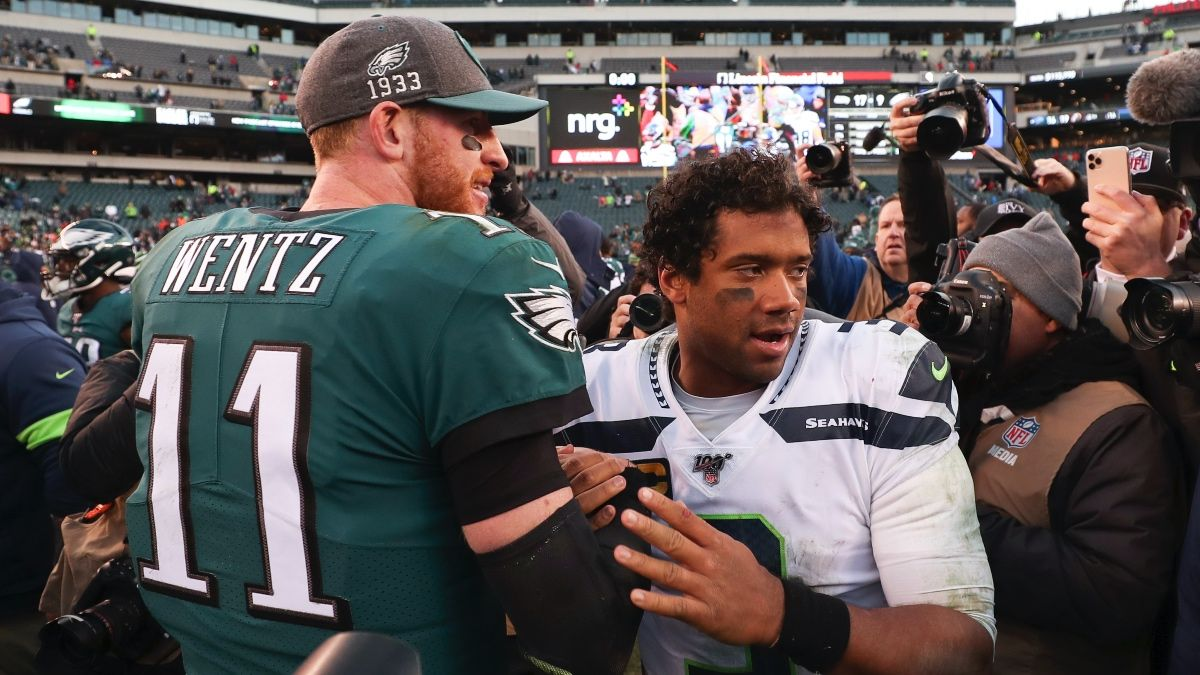 NFL Playoff Betting Tip: What to Expect in Sunday's Seahawks vs. Eagles Regular-Season Rematch article feature image