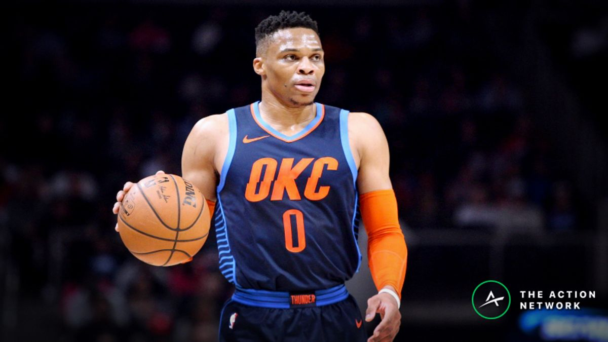 Freedman's Favorite Fantasy Point Prop Bet (Jan. 21): Will Russell Westbrook Score 56 Fantasy Points? article feature image