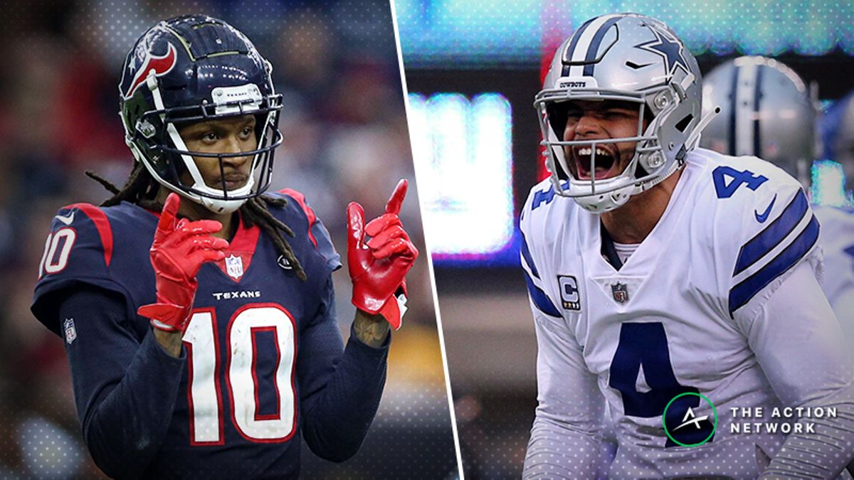 NFL Wild Card Saturday Cheat Sheet: Betting, Fantasy, More for Colts-Texans & Seahawks-Cowboys article feature image