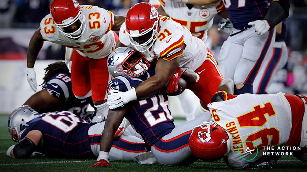 Patriots-Chiefs Betting Odds: Tracking AFC Championship Game Line Moves article feature image