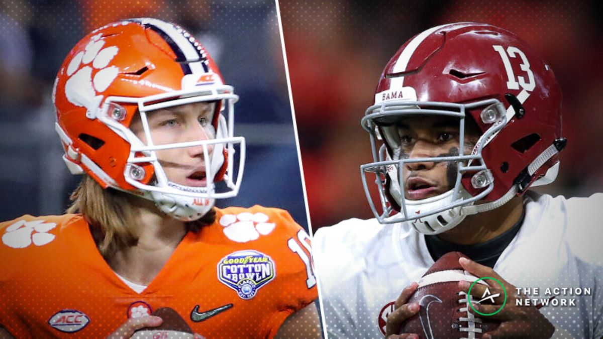 Alabama-Clemson Betting Odds: Tracking Live Spread Moves For 2019 National Championship article feature image