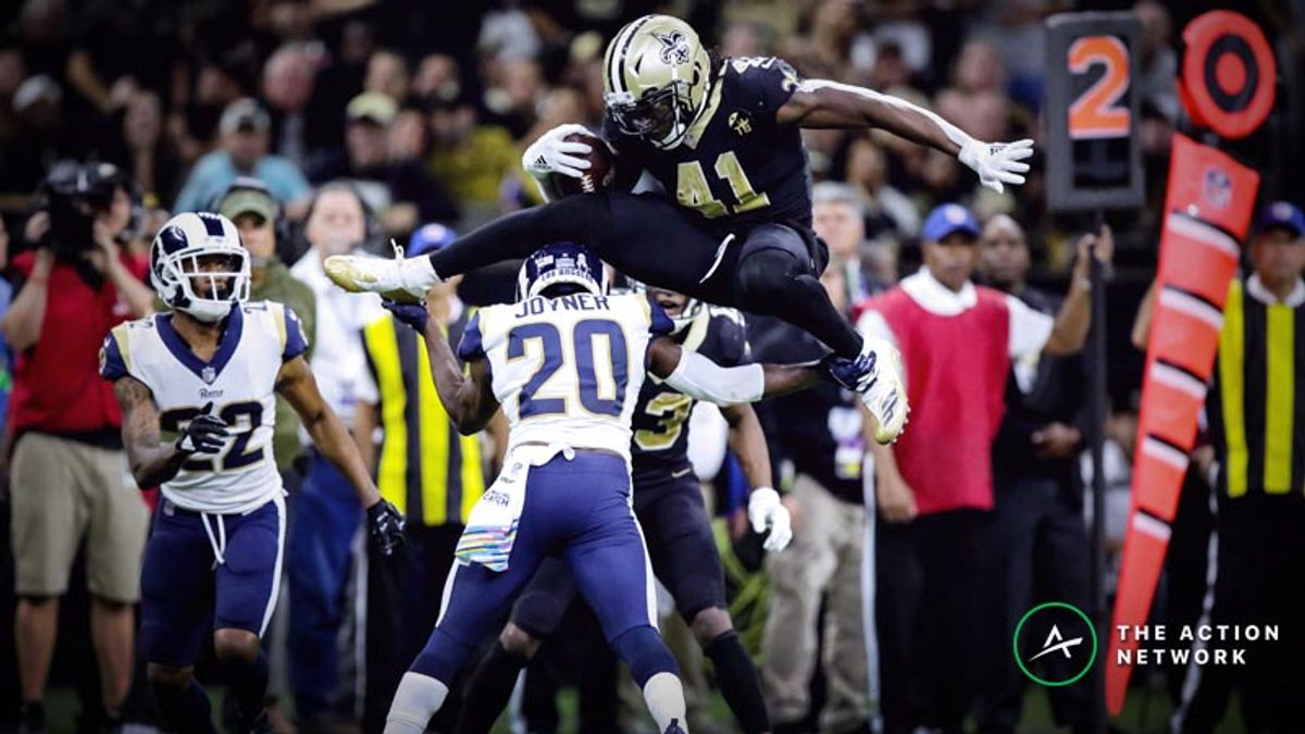 Best Rams-Saints Player Props: Will Alvin Kamara Dominate L.A. in NFC Championship? article feature image