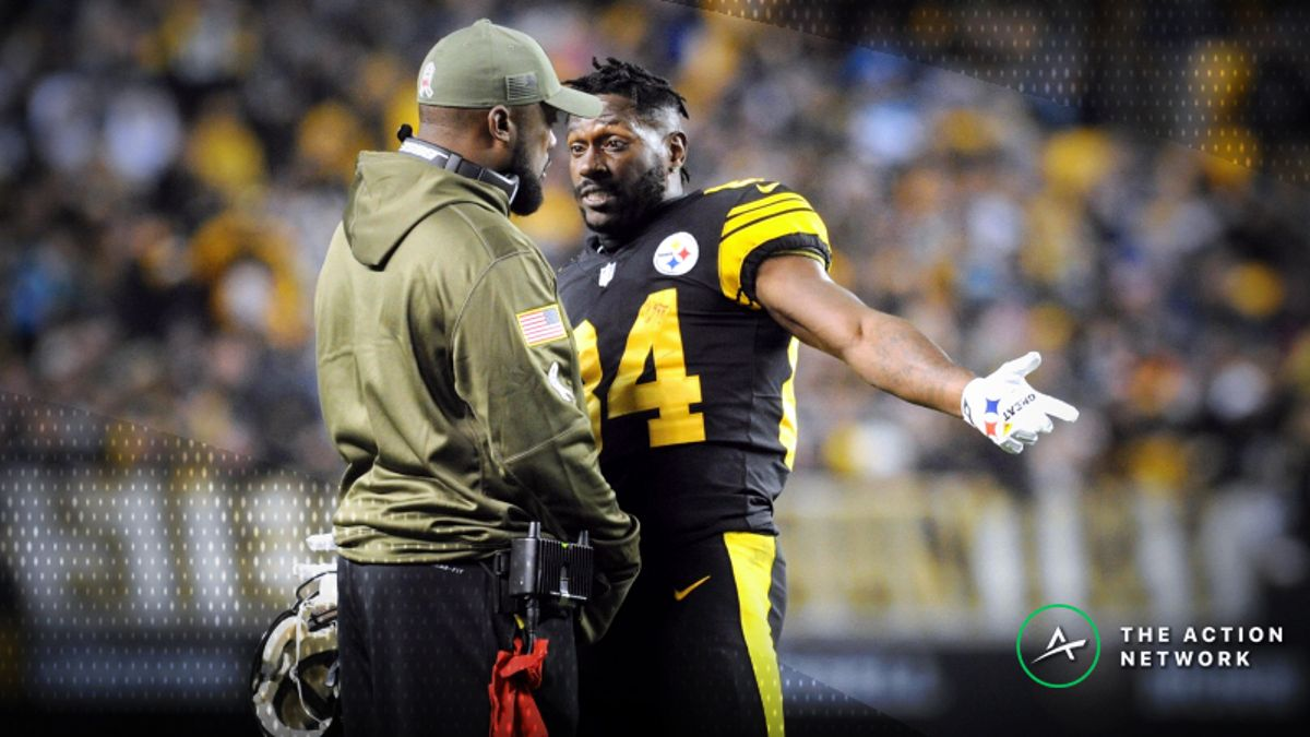 Odds Suggest Antonio Brown, Mike Tomlin Will Remain in Pittsburgh article feature image