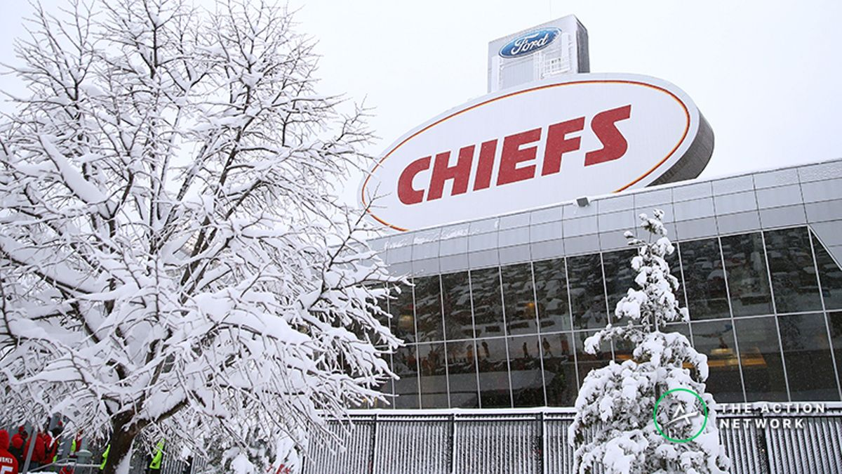 Weather Forecast Moves Patriots-Chiefs AFC Championship Odds … Again article feature image