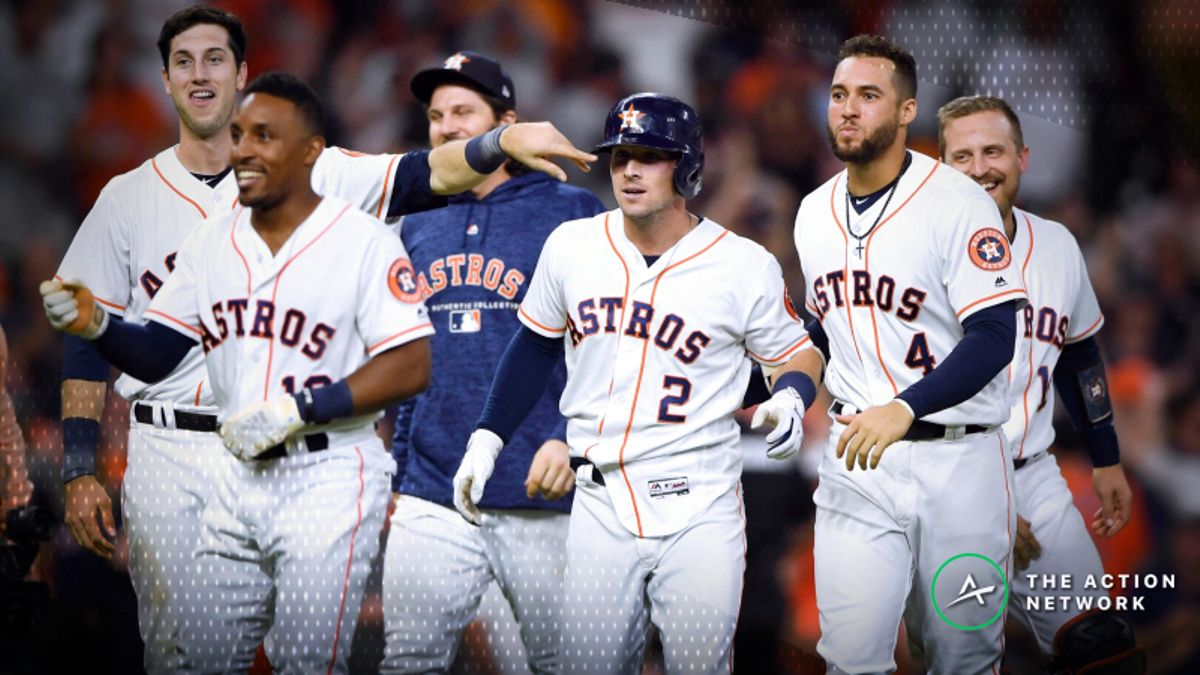 2019 MLB Season Win Totals for All 30 Teams: Astros Top List at 97.5 article feature image