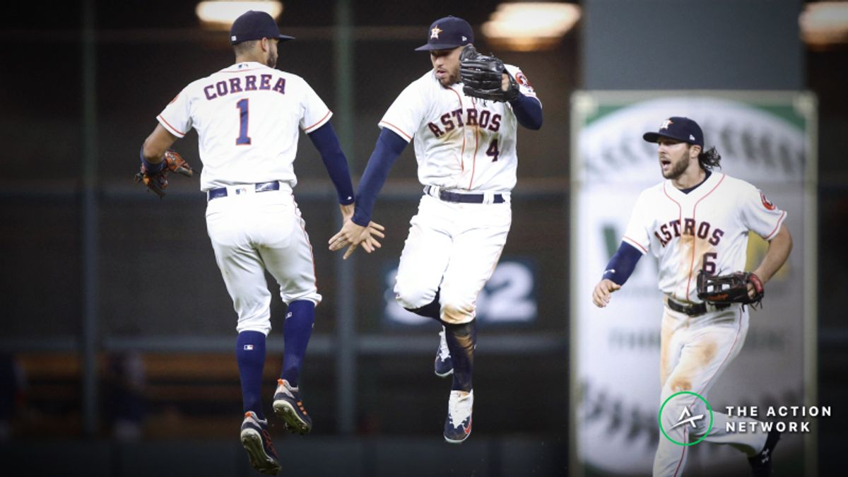Will the Houston Astros Cover the Highest Win Total in the MLB? article feature image