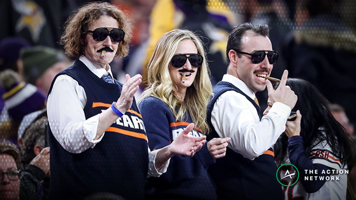 Eagles-Bears Betting Odds: Tracking NFL Wild Card Weekend Line Moves article feature image