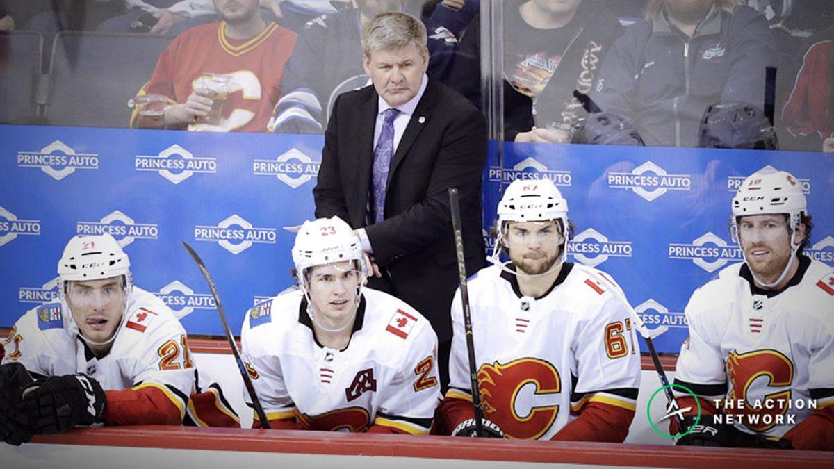 Hurricanes-Flames Betting Preview: Bill Peters Welcomes His Former Team to Calgary article feature image