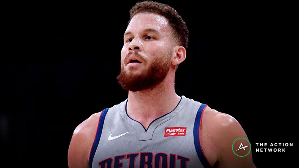 Freedman's Favorite NBA Prop Bet (Jan. 18): Will Blake Griffin Grab 8 Rebounds? article feature image