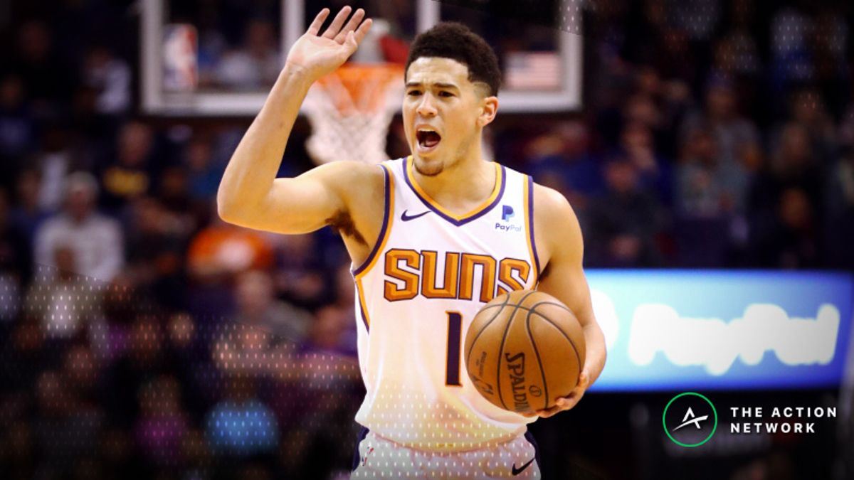 NBA Injury Report: Betting, DFS Impact of Devin Booker, Pacers Injuries article feature image