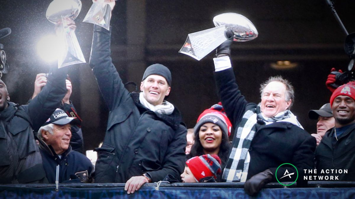 Complete Betting History of Patriots Super Bowls in Brady-Belichick Era article feature image
