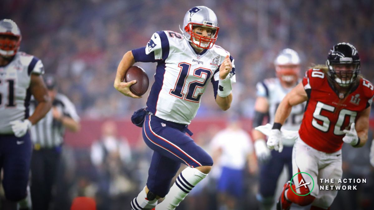 Tom Brady Rushing Prop Bet: Can the GOAT Fall Forward for Us Again? article feature image