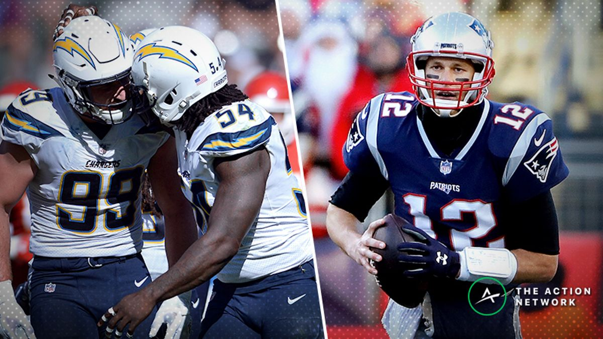 Stuckey: The Two Chargers-Patriots Bets I Made Right Away article feature image