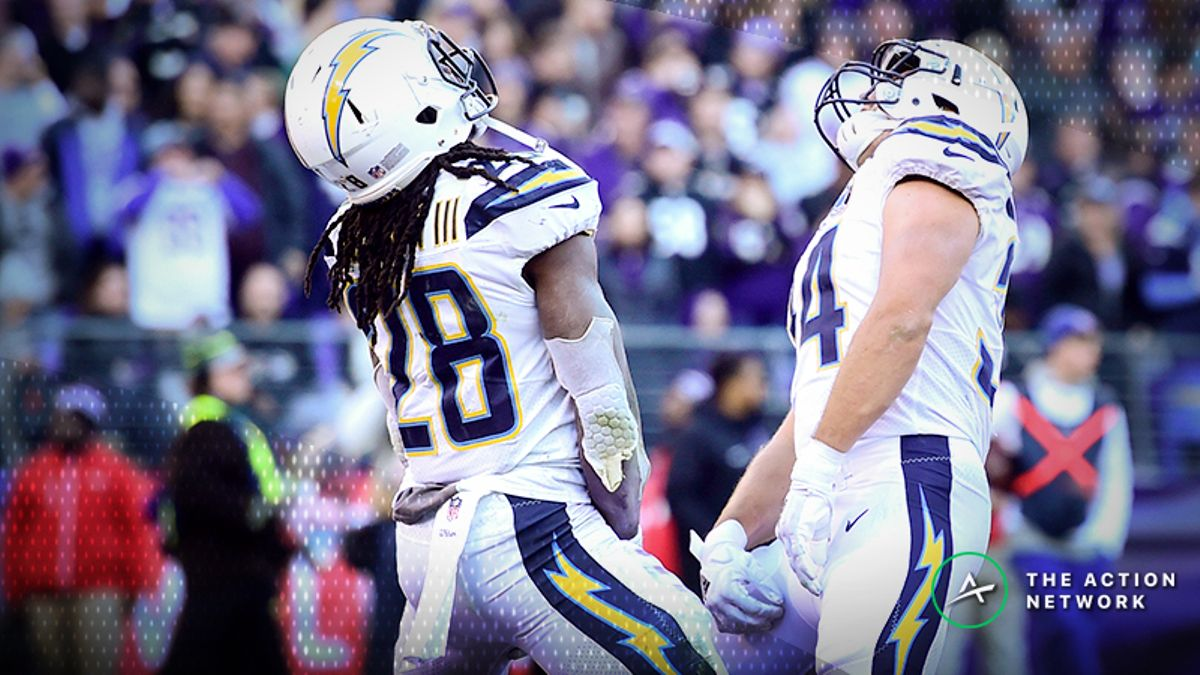 Chargers-Patriots Betting Odds: Tracking NFL Divisional Playoff Line Moves article feature image