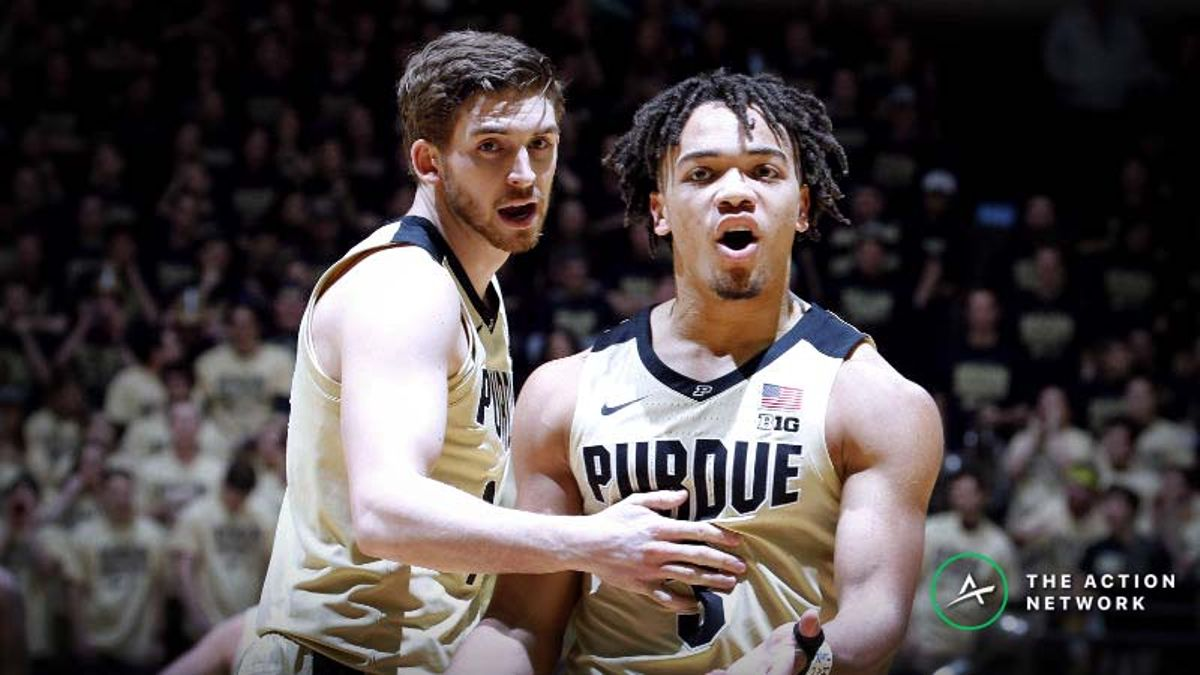 College Basketball Betting Cheat Sheet for Saturday, Feb. 23: Odds, Picks, Analysis article feature image