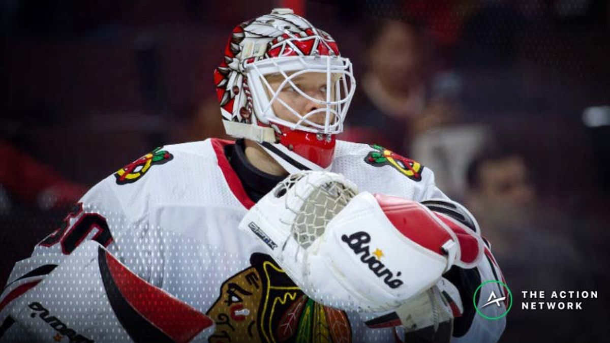 Freedman's Favorite NHL Prop Bet (Jan. 12): Can Collin Delia Make 30 Saves Again? article feature image