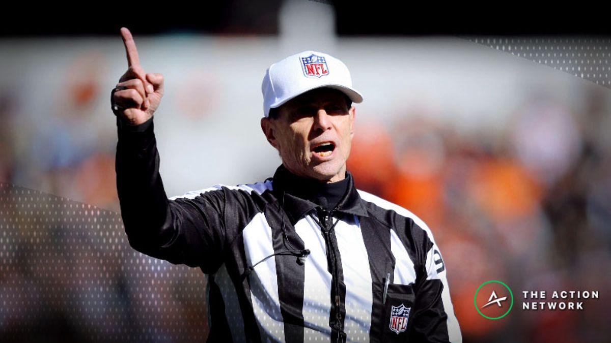NFL Referee Betting Trends to Know for Wild Card Weekend article feature image