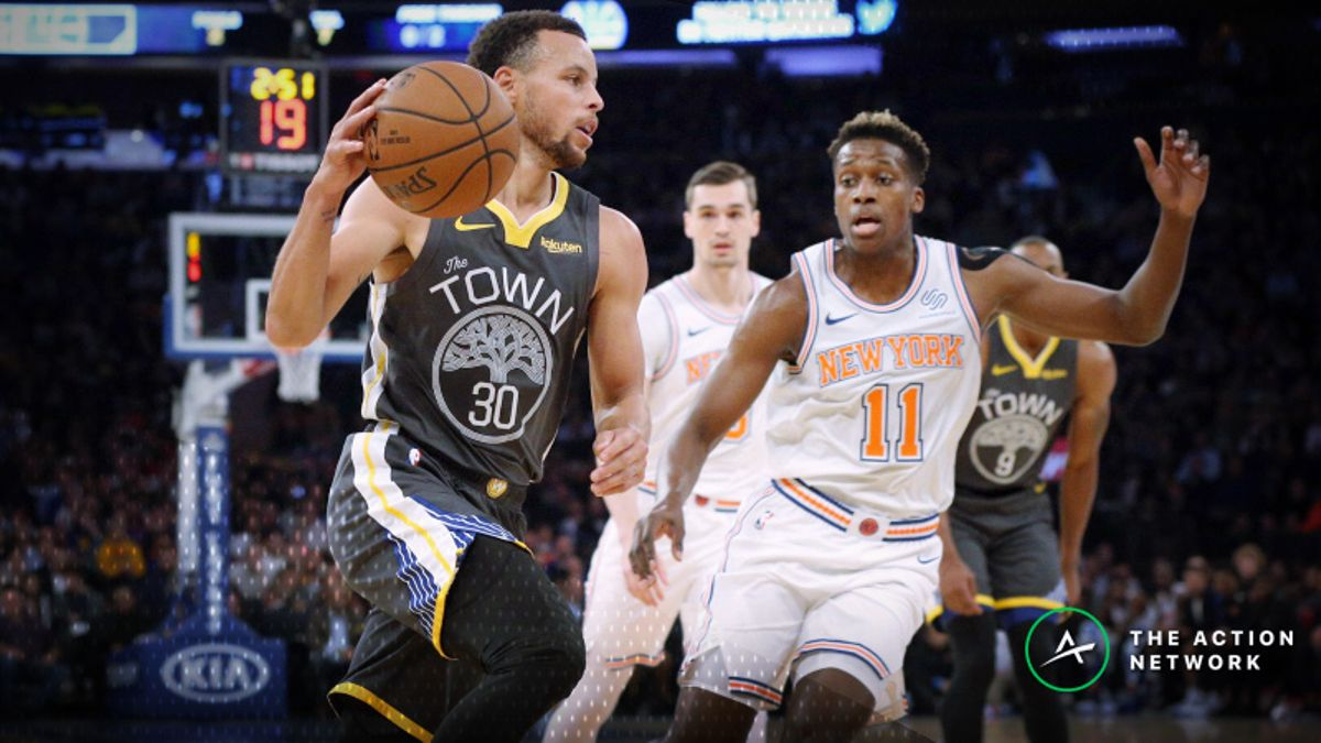 NBA Sharp Report: Wiseguys Betting Pacers-Cavaliers, Knicks-Warriors Tuesday Night article feature image