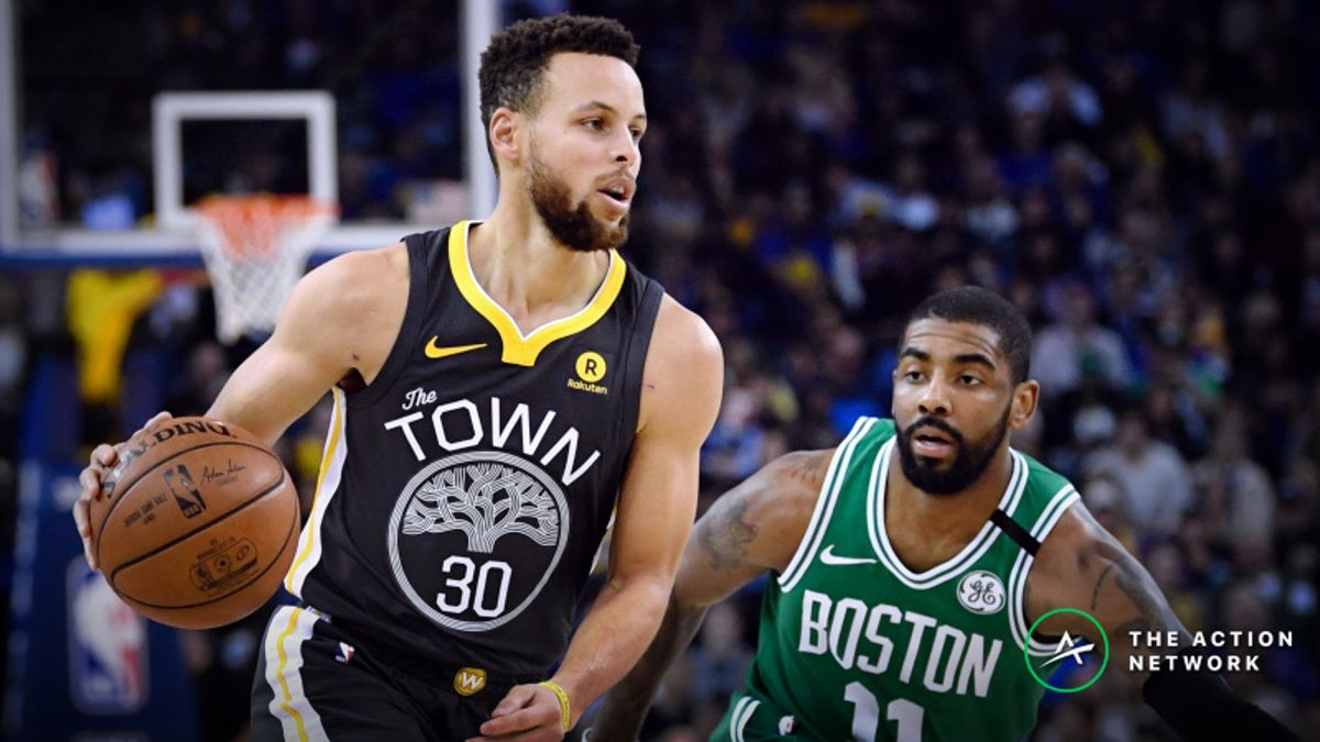 NBA Sharp Report: Warriors-Celtics Among 4 Saturday Games Drawing Smart Money article feature image