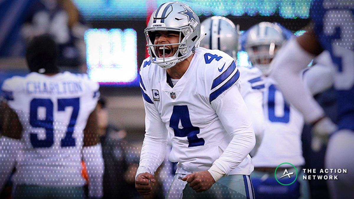 Seahawks-Cowboys Betting Odds: Tracking NFL Wild Card Weekend Line Moves article feature image