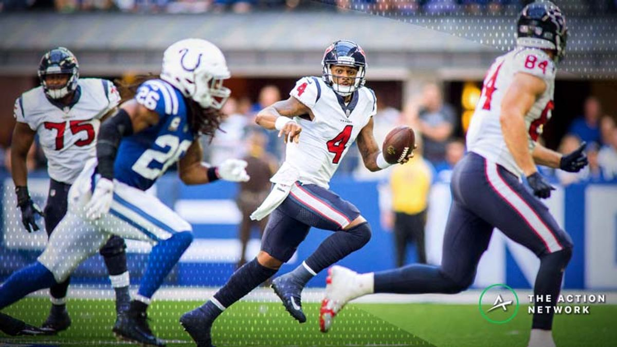 Wild-Card Weekend Fantasy QB Breakdown: Is Deshaun Watson a Value at His Salary? article feature image