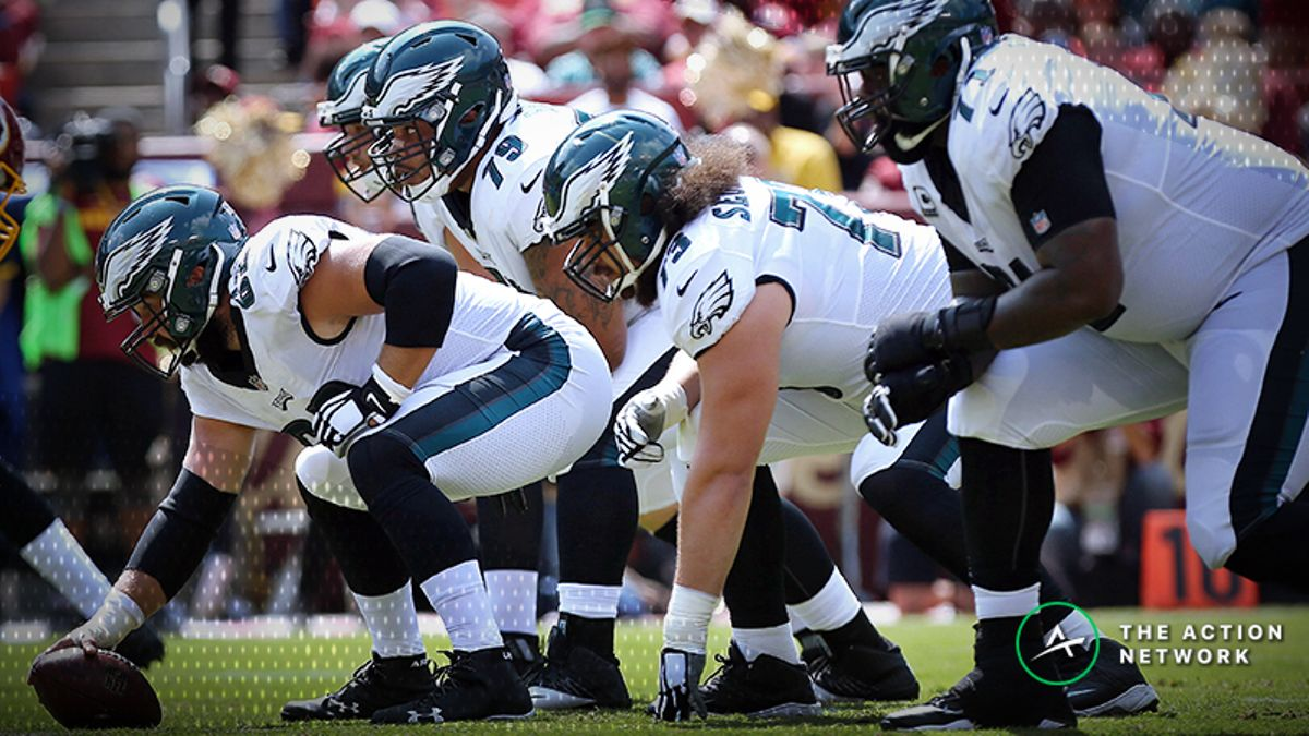 Schwartz: Ranking the Offensive Lines in the NFL Divisional Round, From 1-8 article feature image