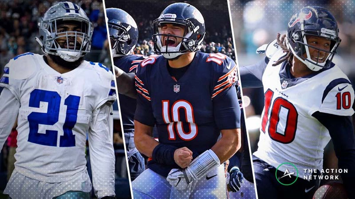 Koerner: The 'Most Yardage' Props With Betting Value for NFL Wild Card Weekend article feature image