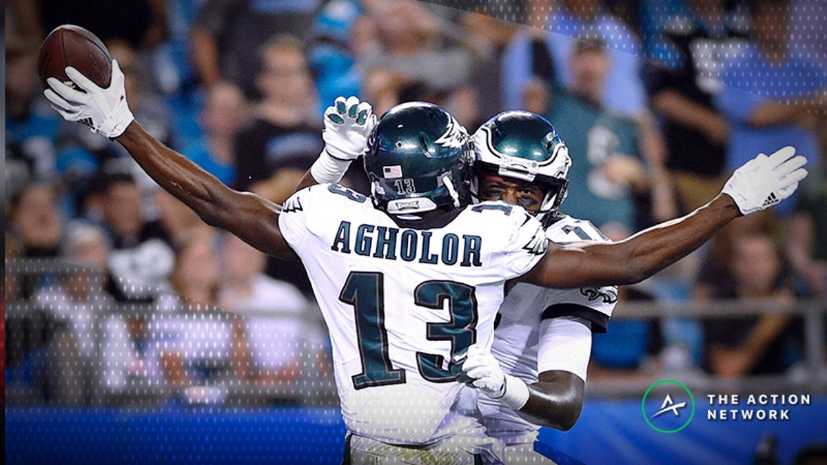 Wild Card Round Fantasy Football Half-Point PPR Rankings: WR article feature image