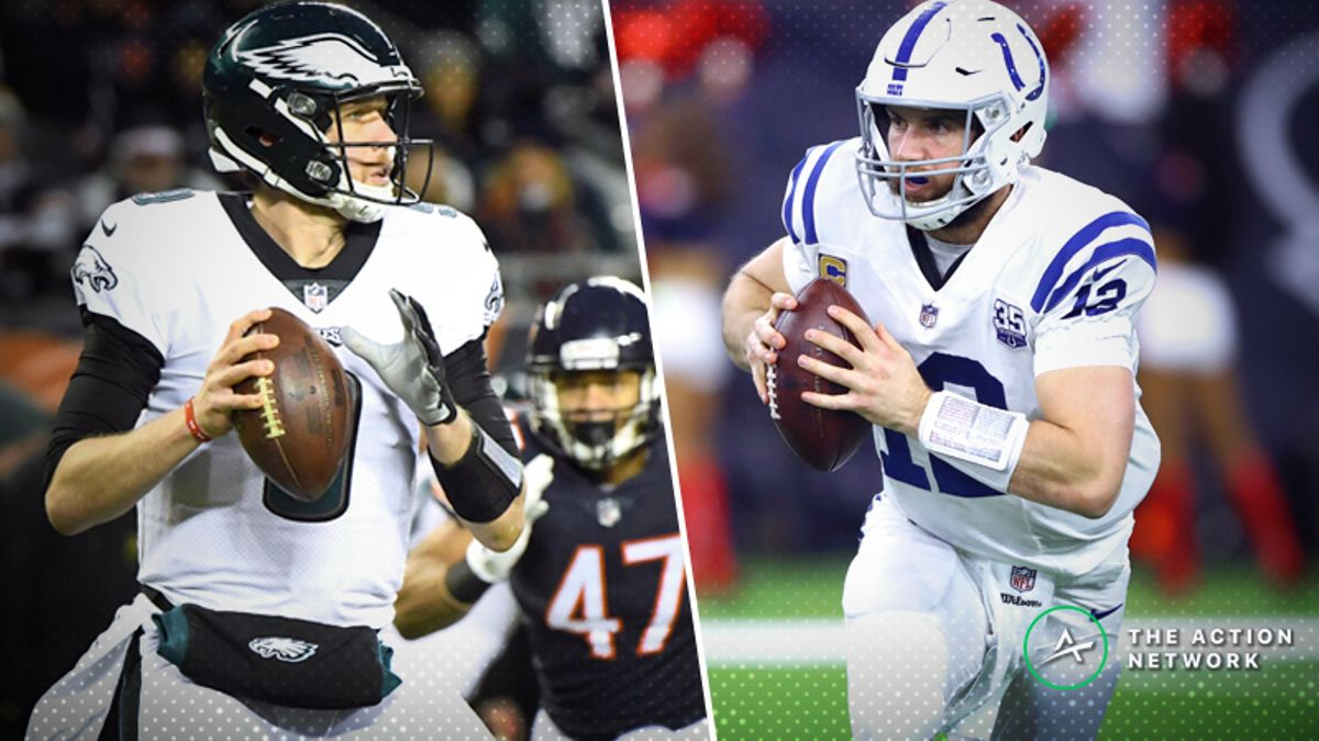 NFL Wild Card Fantasy Football Takeaways: Nick Foles' Legend Grows, Andrew Luck Advances, More article feature image