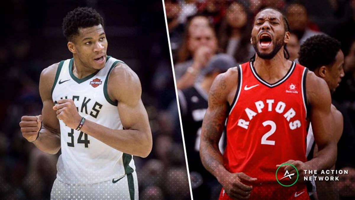 Raptors-Bucks Betting Guide: Will Red-Hot Milwaukee Keep Rolling? article feature image