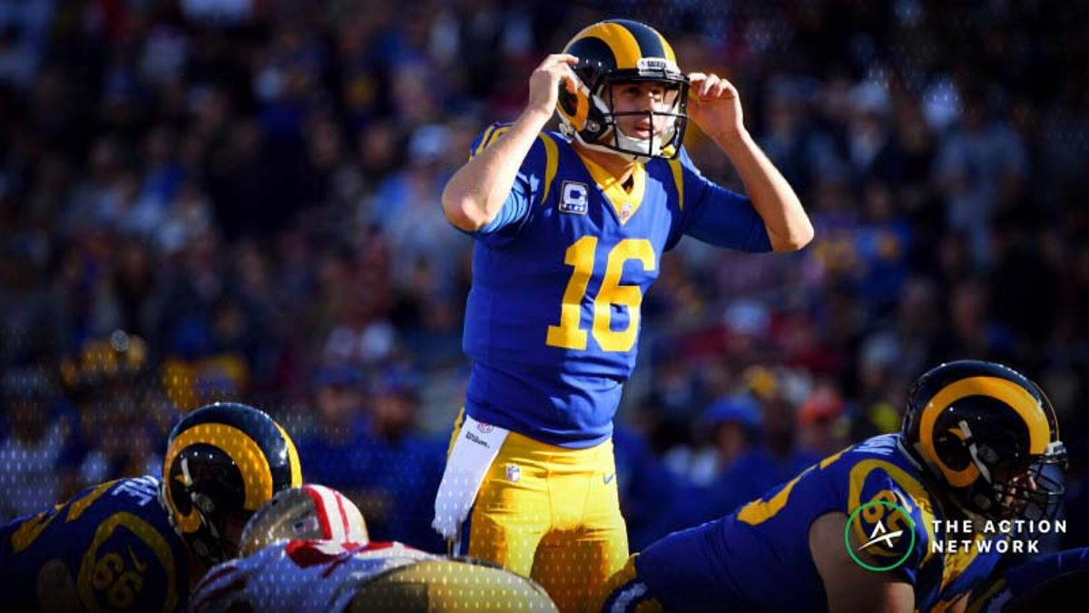 Best Cowboys-Rams Divisional Round Prop Bets: Jared Goff Pass Attempts, More article feature image