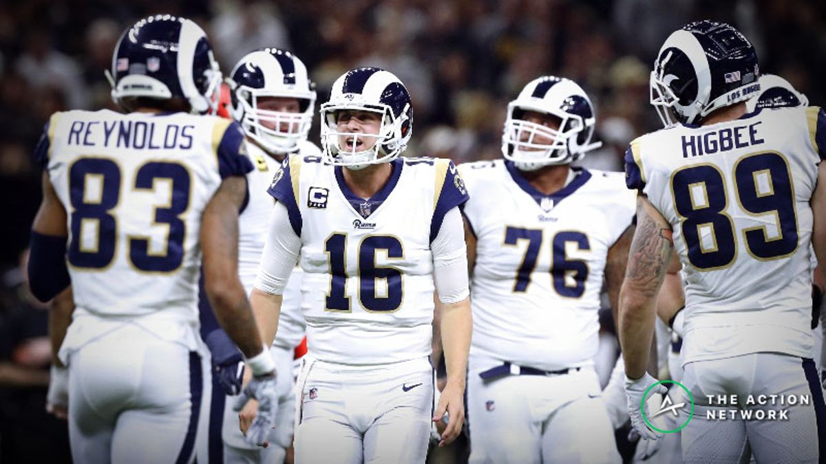 Super Bowl 53 Simulations: Are the Los Angeles Rams Undervalued? article feature image