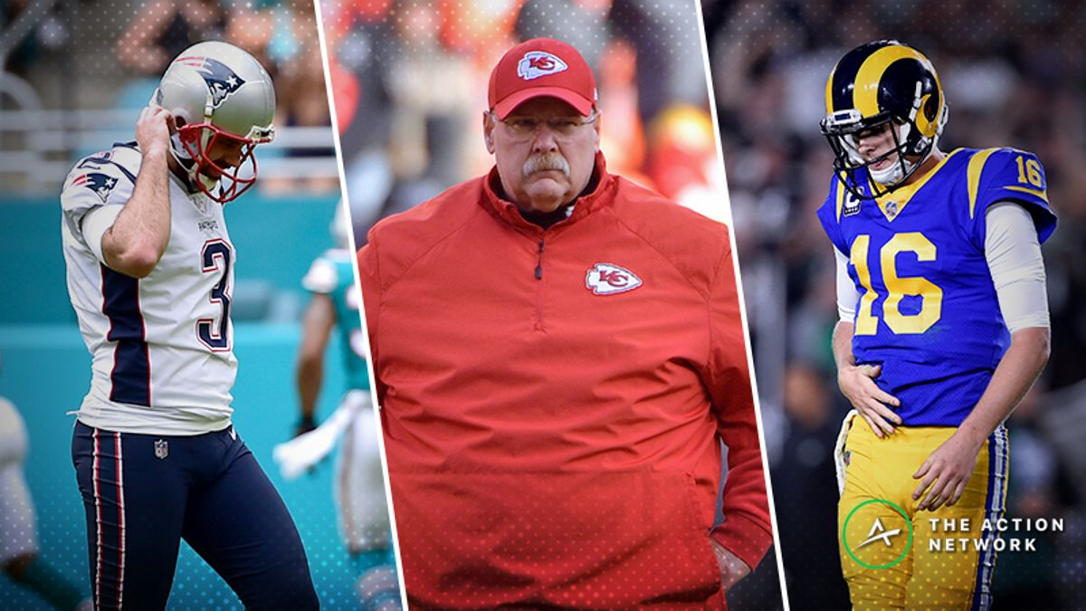 Raybon's WTF Ratings: Which NFL Final 4 Team Is Most Likely to Have Disaster Strike? article feature image