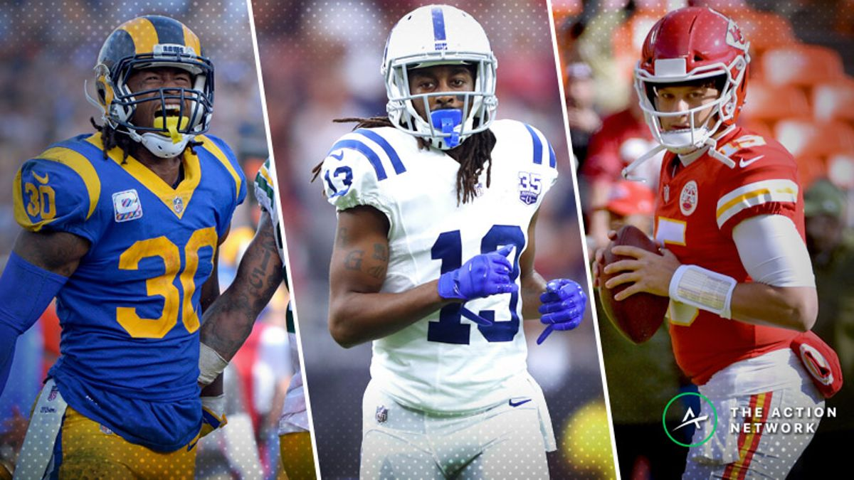 Koerner: The 'Most Yardage' Props With Betting Value for NFL's Divisional Round article feature image