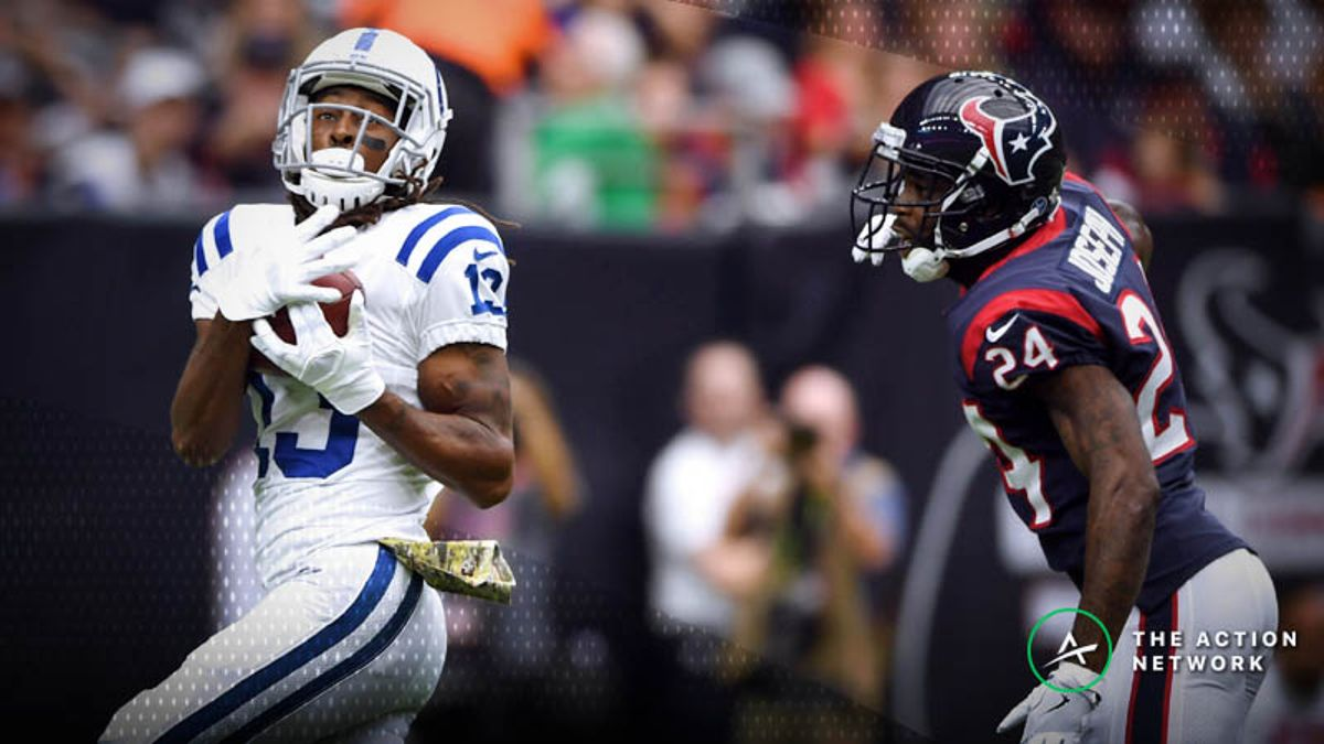 Wild Card Weekend Fantasy WR Breakdown: Will T.Y. Hilton Dominate Texans Yet Again? article feature image