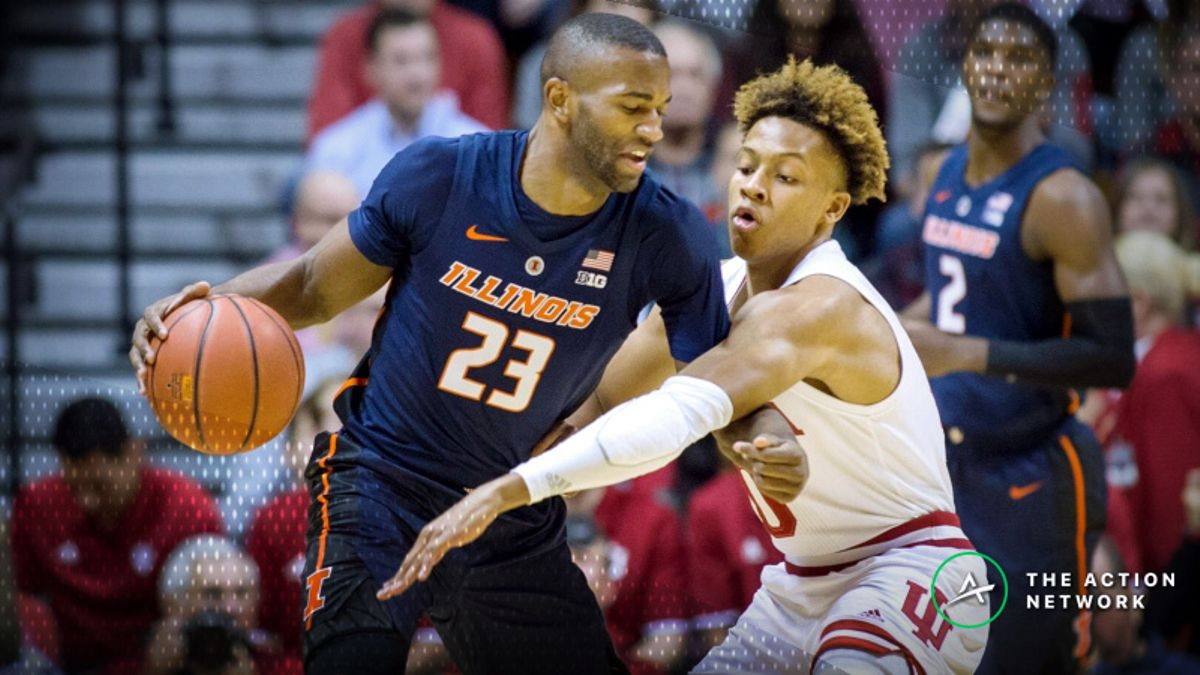 CBB Sharp Report: Wiseguys Betting Michigan-Illinois, 2 Other Thursday Games article feature image