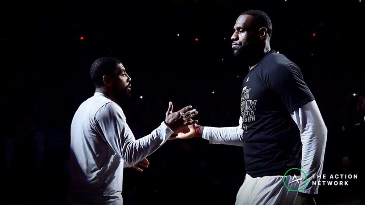 Wob: Exploring The Aftermath of Kyrie's Phone Call to LeBron article feature image