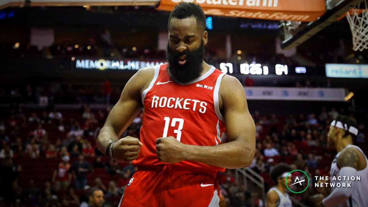 Freedman's Favorite Fantasy Point Prop Bet (Jan. 19): Will James Harden Score More Than 60 Fantasy Points? article feature image