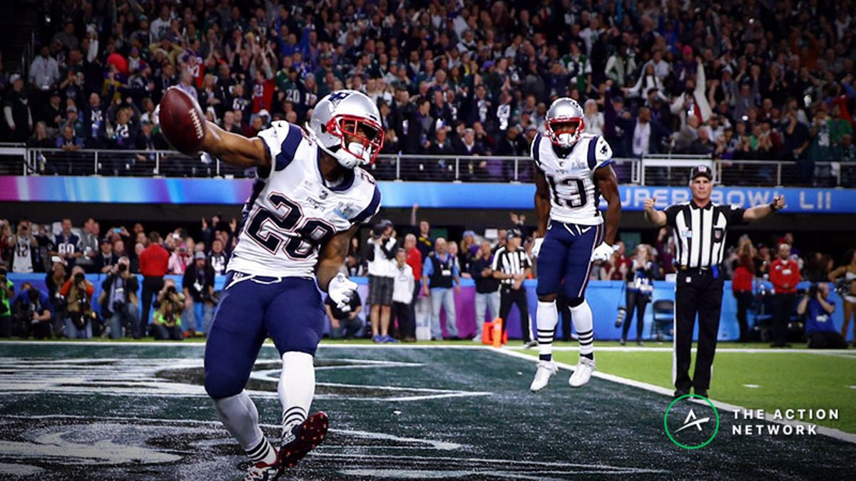 Reliving My Worst Super Bowl Bad Beat: James White to Win MVP article feature image