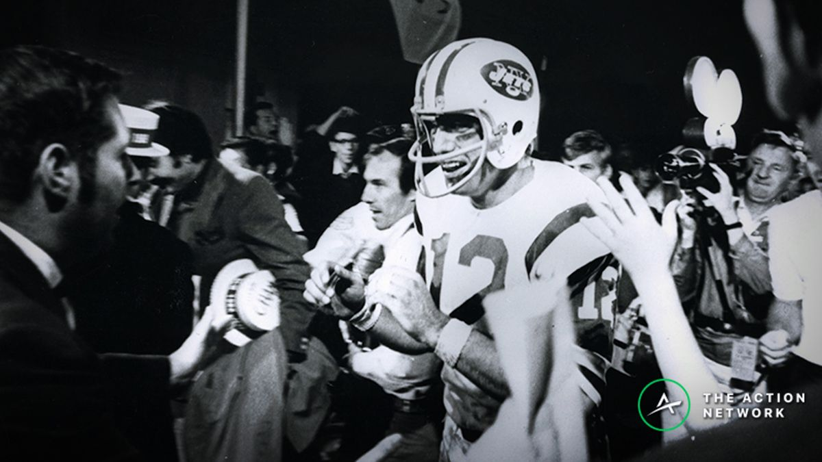 'Bet 10 Grand If You Want': The Best Betting Stories From Super Bowl III, Namath's Upset of the Century article feature image