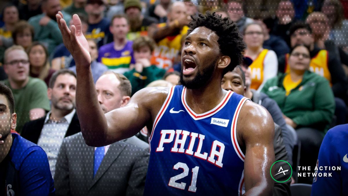 NBA Injury Report: Betting, DFS Impact of Joel Embiid, Gary Harris Injuries article feature image