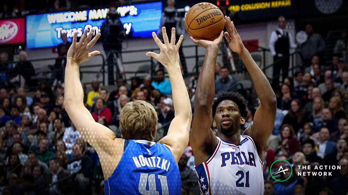 Saturday's Best NBA Player Props: Betting Joel Embiid Points, More article feature image